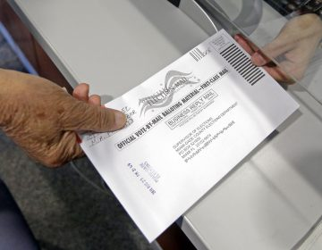 The majority of absentee ballots are rejected in Pennsylvania for lateness, and the rejection rate is increasing. (Alan Diaz/AP Photo)
