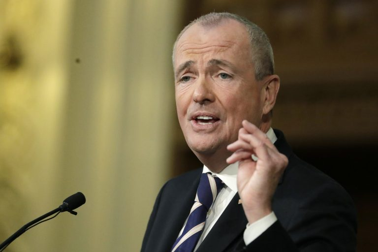 New Jersey Gov. Phil Murphy is pictured in this Jan. 15, 2019 file photo (Julio Cortez/AP Photo)