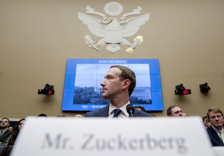"In this April 11, 2018, file photo Facebook CEO Mark Zuckerberg arrives to testify before a House Energy and Commerce hearing on Capitol Hill in Washington. Zuckerberg's new ""privacy-focused vision"" for Facebook looks like a transformative mission statement for the much-criticized social network. But critics say the announcement obscures Facebook's deeper motivations: To expand lucrative new commercial services, continue monopolizing the attention of users and to develop new data sources for tracking people. (Andrew Harnik/AP Photo, File)"