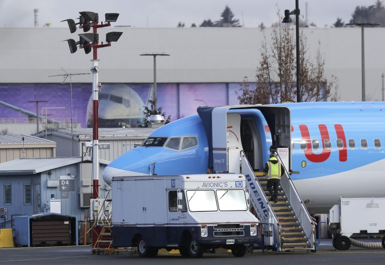President Donald Trump says the U.S. is issuing an emergency order grounding all Boeing 737 Max 8 and Max 9 aircraft in the wake of a crash of an Ethiopian Airliner. (Ted S. Warren/AP Photo)