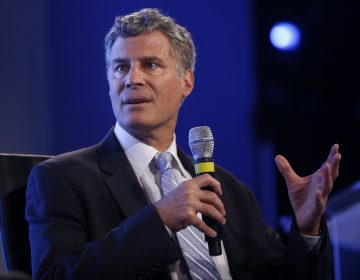 In this May 14, 2014, file photo Alan Krueger, professor of economics and public affairs at Princeton University, speaks at the 2014 Fiscal Summit organized by the Peter G. Peterson Foundation in Washington. Princeton University Professor Krueger, a groundbreaking economist who served as a top adviser, has died according to a statement by the university. (AP Photo, File)