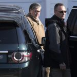 Attorney General William Barr leaves his home in McLean, Va., on Saturday morning, March 23, 2019. Special counsel Robert Mueller closed his long and contentious Russia investigation with no new charges, ending the probe that has cast a dark shadow over Donald Trump's presidency. (Sait Serkan Gurbuz/AP Photo)