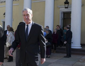 Special Counsel Robert Mueller departs St. John's Episcopal Church, across from the White House, after attending morning services, in Washington, Sunday, March 24, 2019. Mueller closed his long and contentious Russia investigation with no new charges, ending the probe that has cast a dark shadow over Donald Trump's presidency. (AP Photo/Cliff Owen)