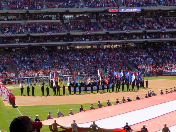 Opening day for the Phillies (Ximena Conde/WHYY)