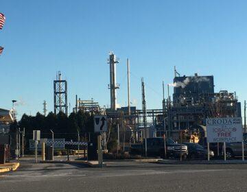 Croda Inc. manufacturing plant