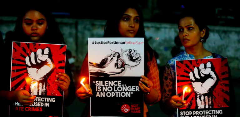 Indian women hold protests against sexual violence. (Ajit Solanki/AP Photo, File)