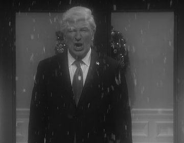 Alec Baldwin as President Trump in an episode of Saturday Night Live (NBC/youtube)