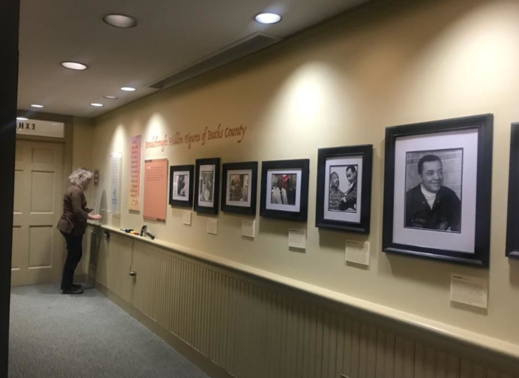 "The African American Museum of Bucks County's exhibit ""Building on the Dream: From Africa to Bucks County"" is on display at the Pearl S. Buck House through July (Courtesy Sharon Lentz/The Philadelphia Tribune)"