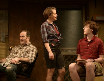 Steven Rishard (left), Suli Holum and PJ Barth in Theatre Horizon's production of