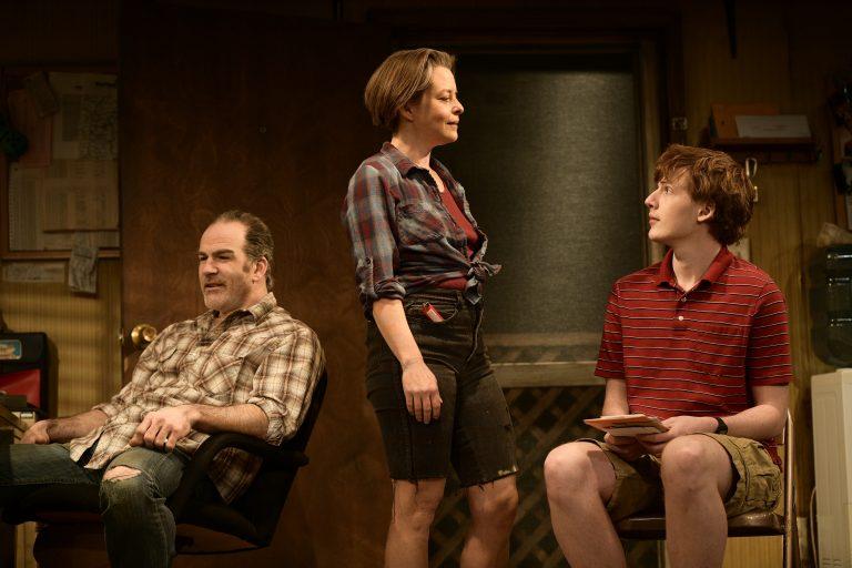 Steven Rishard (left), Suli Holum and PJ Barth in Theatre Horizon's production of