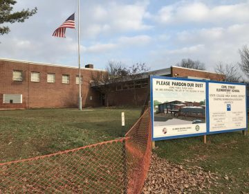 Corl Street Elementary, in State College, is receiving extensive renovations, all done with safety in mind. (Emily Reddy/WPSU)