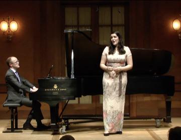Sophia Fiuza Hunt, mezzo-soprano; Grant Loehnig, piano