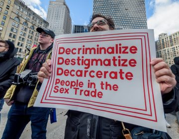 LGBTQ, immigrant rights and criminal justice reform groups, launched a coalition, Decrim NY, in February to decriminalize the sex trade in New York. (Erik McGregor/Getty Images)