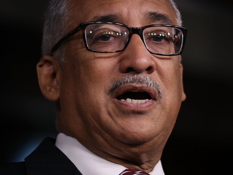 House Labor Chairman Bobby Scott, D-Va., has shepherded through his committee a bill that would gradually raise the federal minimum wage to $15 from $7.25 by 2024. (Joe Raedle/Getty Images)
