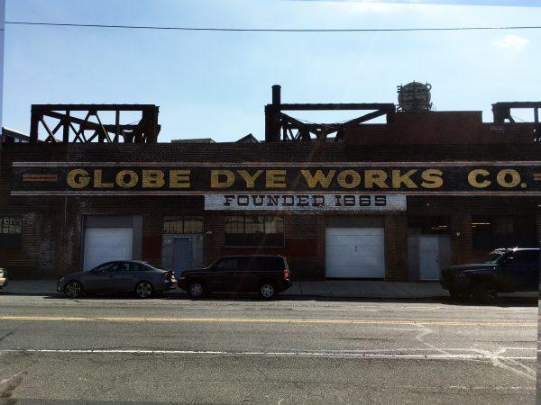 Globe Dye Works, established in 1865, in 2013. (Bradley Maule/Hidden City Philadelphia)
