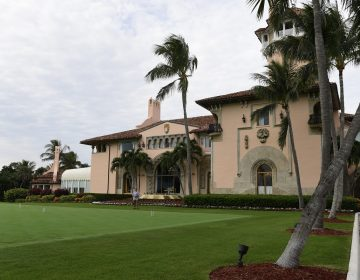 A view of President Donald Trump's Mar-a-Lago estate in Palm Beach, Fla., Thursday, Nov. 22, 2018. (AP Photo/Susan Walsh)