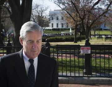 Special Counsel Robert Mueller walks past the White House after attending services at St. John's Episcopal Church, in Washington, Sunday, March 24, 2019. (AP Photo/Cliff Owen)
