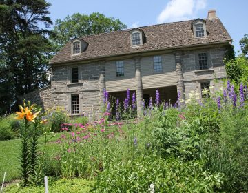 Bartram's Garden in southwestern Philadelphia preserves the home and garden of the 18th century naturalist. (Emma Lee/WHYY)