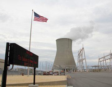 Salem Hope Creek nuclear generating station in Salem County. (Emma Lee/WHYY)