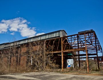 Princetel, a fiberoptic rotary joint manufacturer, wants to move into the former Roebling factory, in Trenton, N.J. The move could create 400 jobs. (Kimberly Paynter/WHYY)