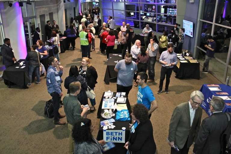 More than 30 candidates for Philadelphia City Council and hundreds of voters converge at WHYY for a