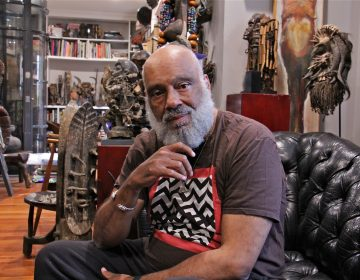 Danny Simmons, creator of Def Poetry Jam, has organized a reunion of Def poets at the Philadelphia Museum of Art. (Emma Lee/WHYY)