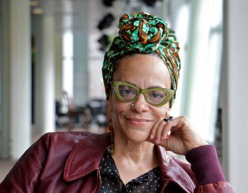 Spoken word artist Ursula Rucker. (Emma Lee/WHYY)