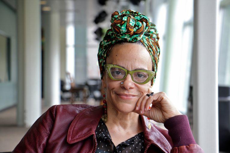 Spoken word artist Ursula Rucker. (Emma Lee/WHYY)