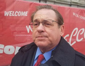 Mayoral candidate Alan Butkovitz says the city of Philadelphia is using its property tax assessments as a backdoor to raise money. (Tom MacDonald/WHYY)