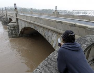 Harrisburg's Market Street Bridge is one of the roughly 3,000 classified as in need of repairs. (Alex Brandon/AP Photo)