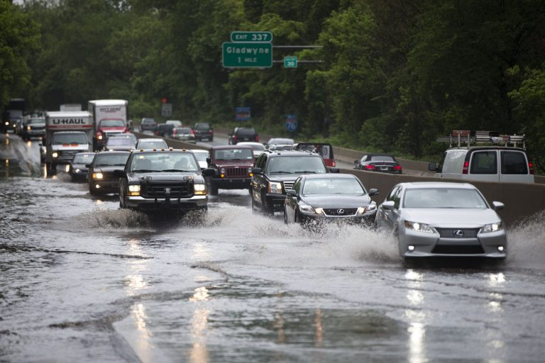 Climate scientists say the Pennsylvania can expect more precipitation as global warming continues. 2018 was the wettest year on record for Pennsylvania. (Matt Rourke/AP Photo)