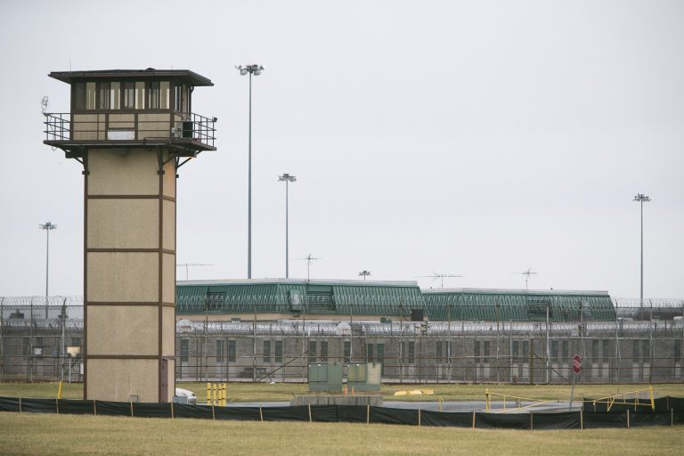 Vaughn Correctional Center near Smyrna, Del. (Suchat Pederson/The Wilmington News-Journal via AP, File)