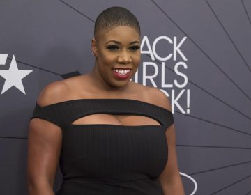 Symone Sanders attends the Black Girls Rock! Awards at New Jersey Performing Arts Center on Sunday, Aug. 26, 2018, in Newark, N.J. (Charles Sykes/Invision/AP)