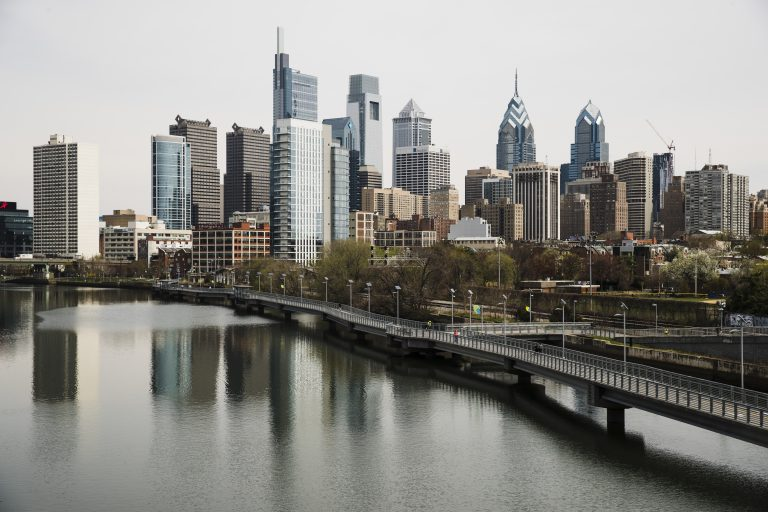 Shown is the skyline in Philadelphia along the Schuylkill River, Tuesday, April 9, 2019. (Matt Rourke/AP Photo)