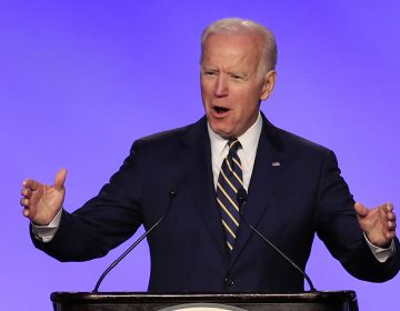 In this April 5, 2019, file photo, former Vice President Joe Biden speaks at the International Brotherhood of Electrical Workers construction and maintenance conference in Washington. (Manuel Balce Ceneta/AP Photo)