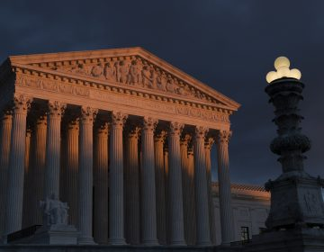 In this Jan. 24, 2019, file photo, the Supreme Court is seen at sunset in Washington. (J. Scott Applewhite/AP Photo)