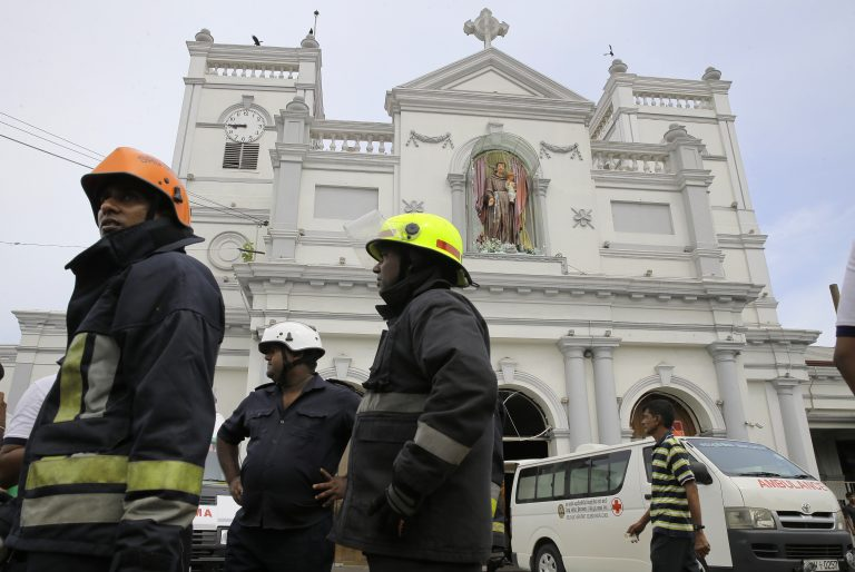 Image result for Fresh explosion rocks St Anthony's Shrine in Colombo
