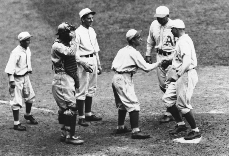 In the 1930s, Pennsylvania made it illegal to play baseball and other sports at certain times on Sundays. (AP Photo)