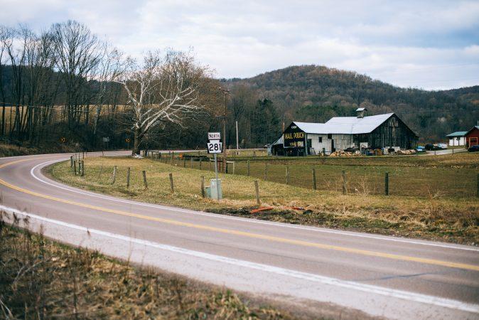 A farm located just outside Confluence in the  Turkeyfoot School District. (Dani Fresh/Keystone Crossroads)