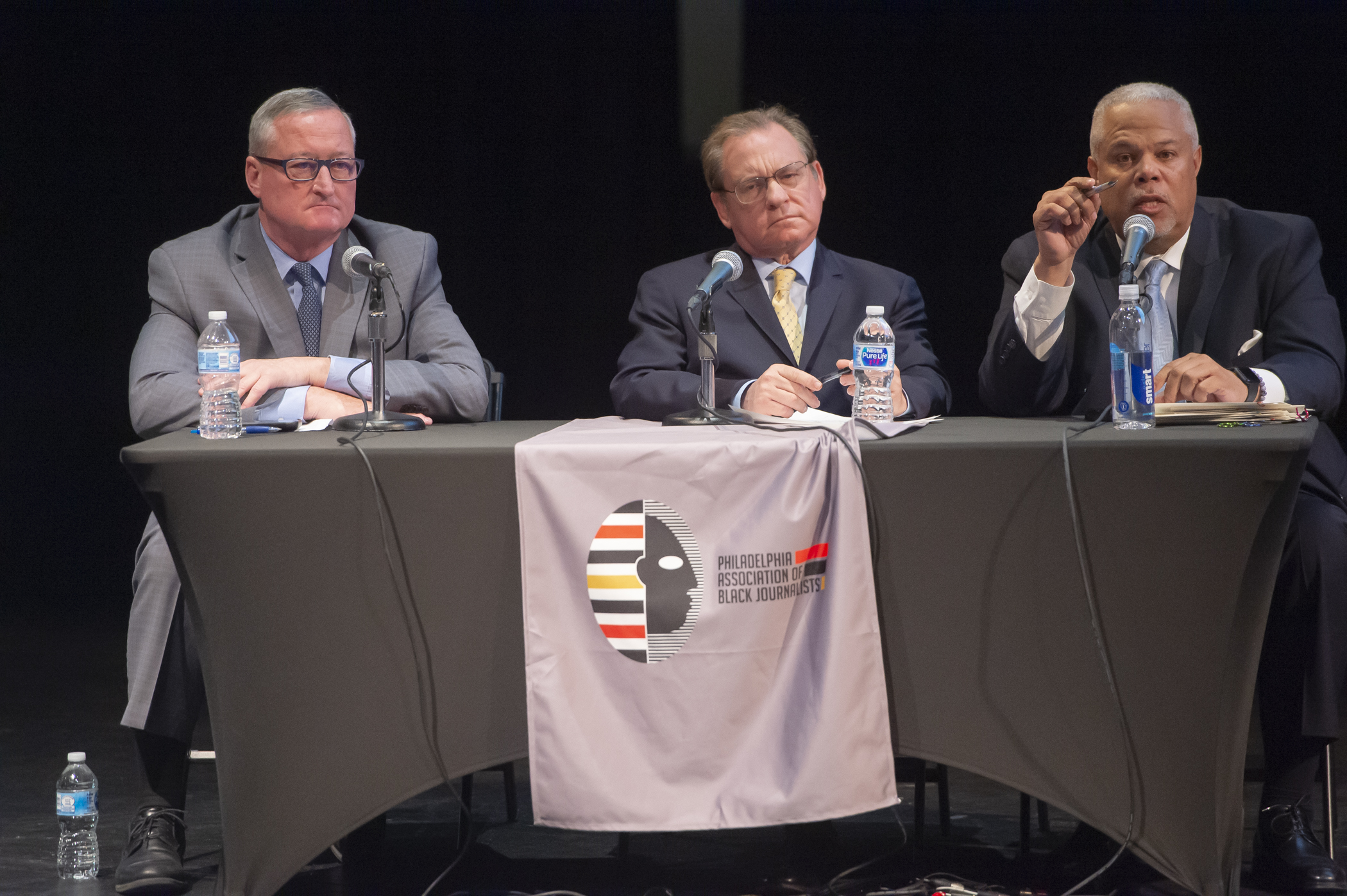 Philly mayor candidates clash over gun violence, stop-and-frisk at their first forum