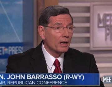 Sen. John Barrasso (R-Wyo.) appeared on NBC's Meet the Press on Sunday, March 31, 2019. (NBC/YouTube)