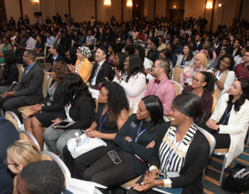 The Student National Medical Association's 2019 Annual Medical Education Conference drew more than 2,200 attendees. (Abdul Sulayman/The Philadelphia Tribune)