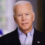 Joe Biden in his campaign announcement video