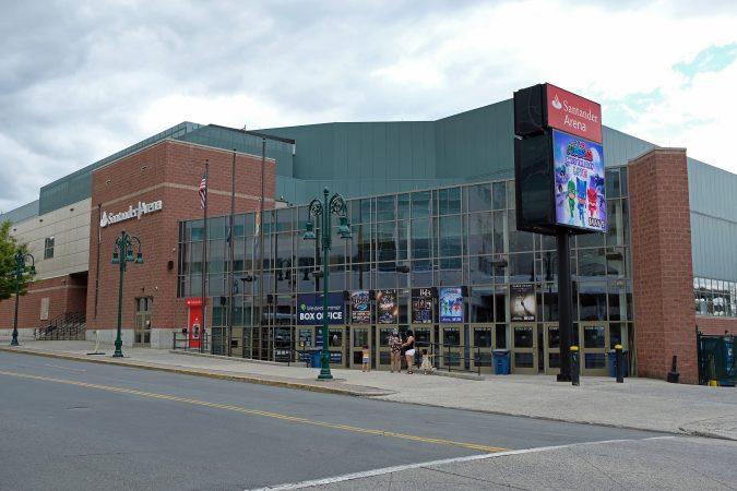 Santander Arena in Reading, Pennsylvania. (Matt Smith for Keystone Crossroads)
