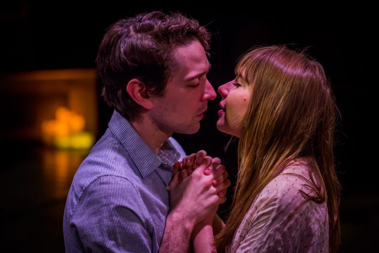 Trevor William Fayle and Stephanie Hodge as siblings in the Philadelphia Artists' Collective production of