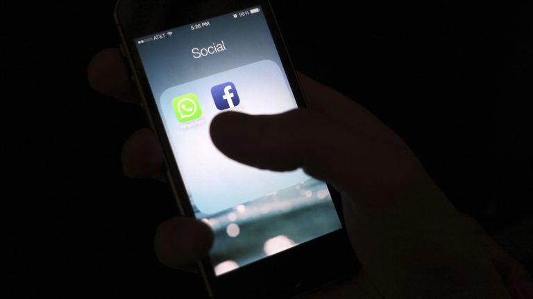 Only about one in 10 teenagers say they share personal, religious or political beliefs on social media, according to a recent survey from Pew Research Center. (Karly Domb Sadof/AP)
