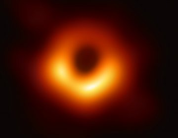The first-ever image of a black hole was released Wednesday by a consortium of researchers, showing the