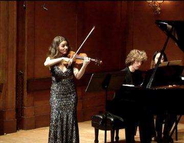 Ania Filochowska, violin