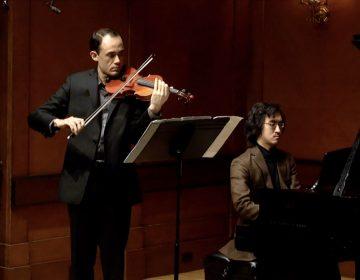 Violinist Brandon Garbot