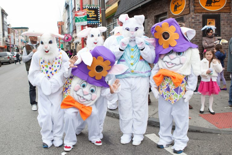 Easter promenade (Photo courtesy of South Street Headhouse District)